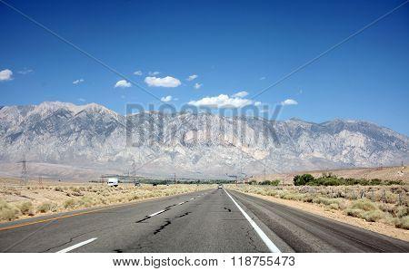 Sierra Nevada Mountains outside Yosemite National Park