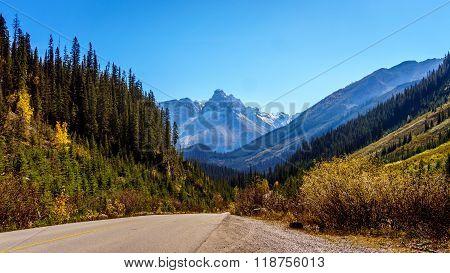 Isolated Peak in Yoho National Park