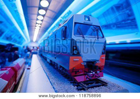 Small train model