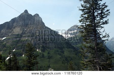 Glacier National Park in Montana, USA