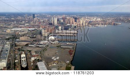 Boston Harbor and its islands are bustling with maritime activity.
