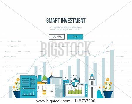 Smart investment, finance, market data analytics, strategic management, financial planning.