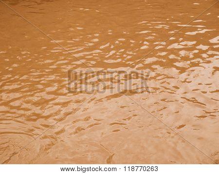 Retro Looking Flood Water
