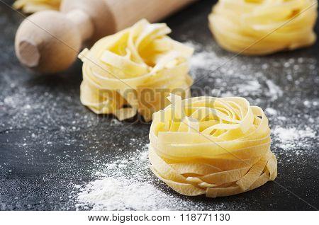 Sardinian Traditional Pasta Malloreddus With Sausage