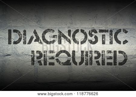 Diagnostic Required Gr