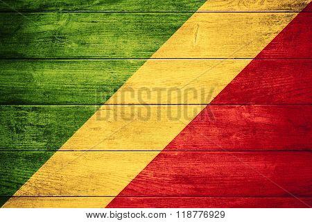 Flag Of Congo