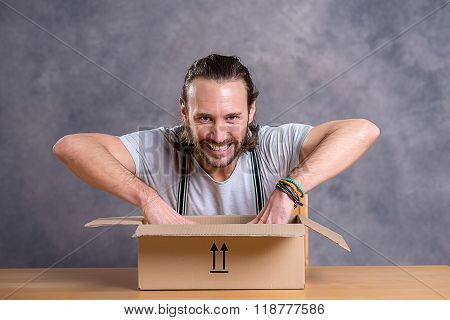 Man Is Discontent With His Delivery