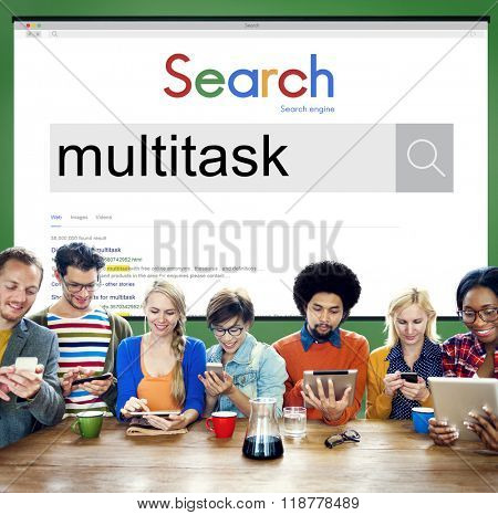 Multitasking Multiprocessing Performance Planning Concept