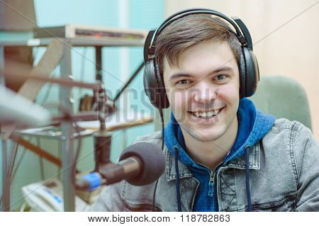Man Portrait Radio Dj