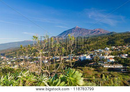 El Teide Volcano From Mirador Lomo Molino
