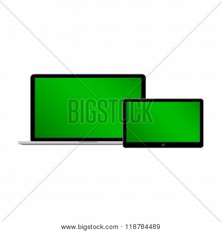 Notebook and tablet