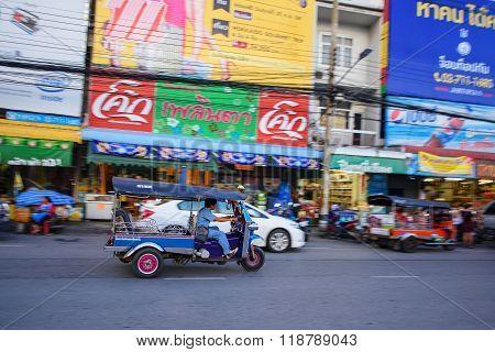 Driver In Tuk Tuk
