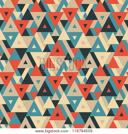 Abstract geometric background - seamless vector pattern.