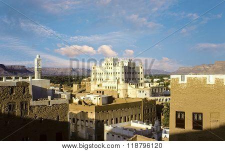 Sultans Palace, Seyun, Wadi Hadramaut, Yemen