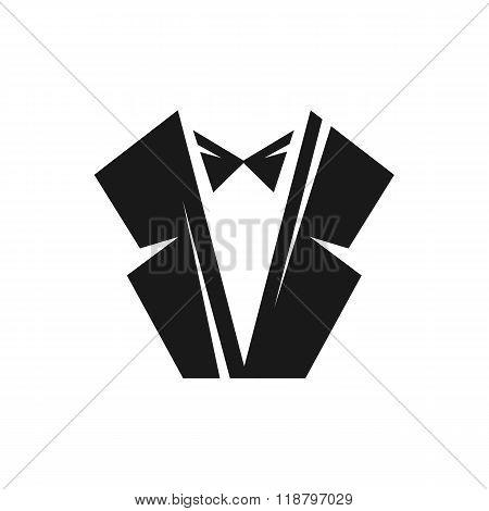 Black tuxedo logo