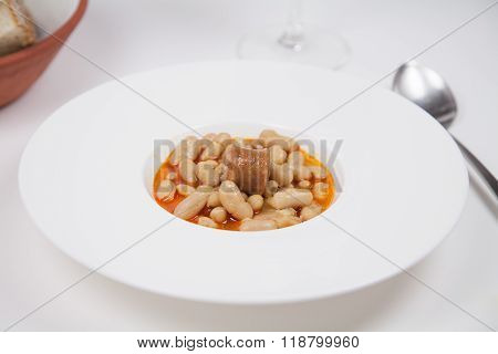 Asturian Fabada Dish