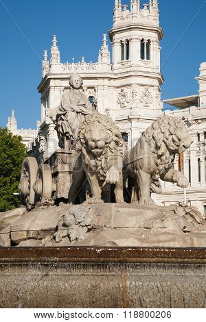 Cibeles Sculpture