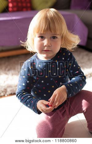 Two Years Old Baby Portrait