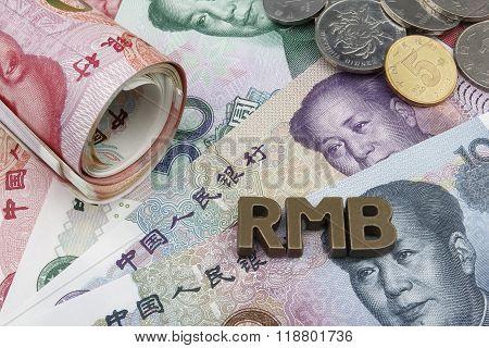 Chinese Yuan (CNY/RMB).