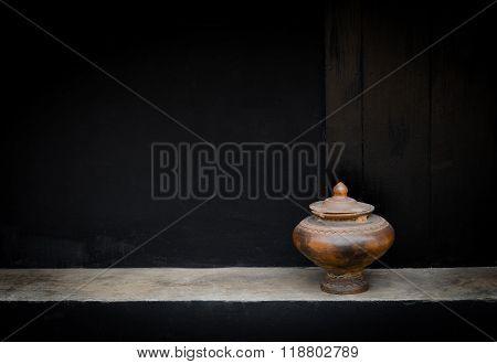 Drinking Water Jar From Thailand