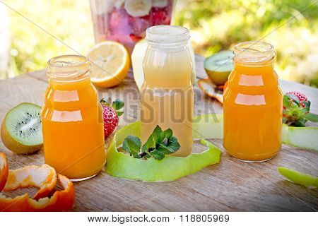 Healthy fruit juices
