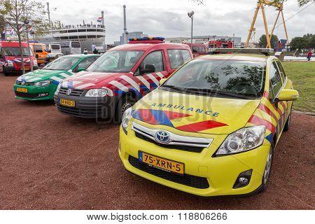Dutch Priority Vehicles