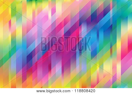 Colorful Mesh Background With Vertical And Diagonal Lines