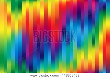Shiny Bright Rainbow Colorful Mesh Vertical Lines Background