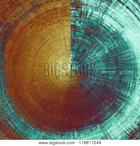 Spherical vintage antique background. With different color patterns: yellow (beige); brown; blue; cyan; purple (violet)