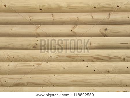 Wall Paneled By Wood Boards