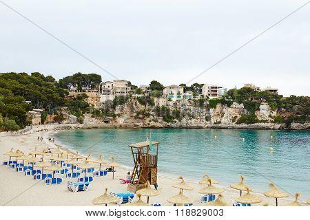 Beautiful bay in Mallorca