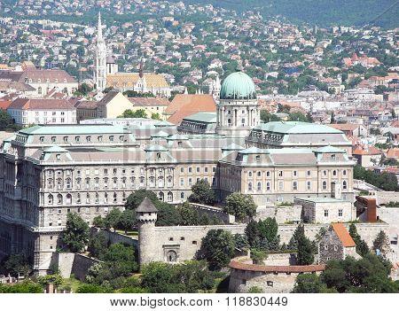 Buda Castle, Budapest, Hungary.