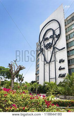 Camilo Cienfuegos monument