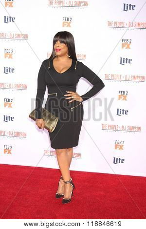 LOS ANGELES - JAN 27:  Niecy Nash at the American Crime Story - The People V. O.J. Simpson Premiere at the Village Theater on January 27, 2016 in Westwood, CA