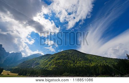 Julian Alps - Mount Mangart Friuli Italy