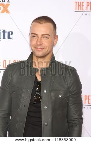 LOS ANGELES - JAN 27:  Joey Lawrence at the American Crime Story - The People V. O.J. Simpson Premiere at the Village Theater on January 27, 2016 in Westwood, CA