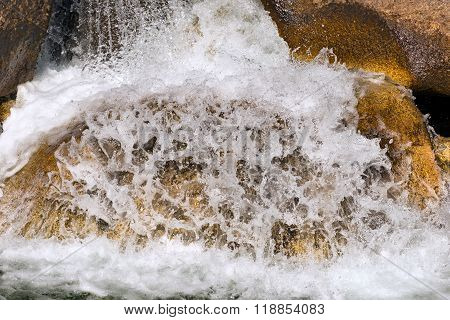 Water Flowing In The Creek