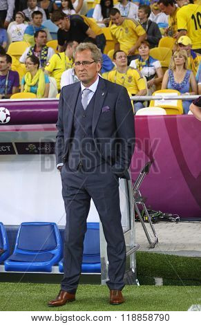 Erik Hamren, Head Coach Of Sweden National Football Team