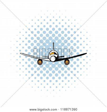 Airplane comics icon