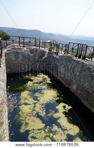 The historical complex Perperikon - ancient city built in South Bulgaria near Kardzhali