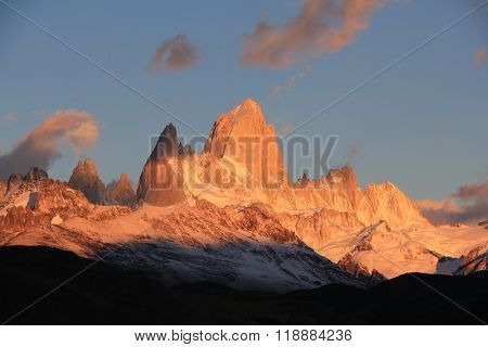 Sunrise at Patagonia