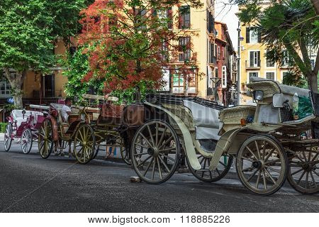 Row Of Carriages