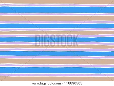 Blue And Brown Striped Background