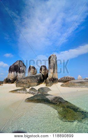 Potrait of Batu Layar Island