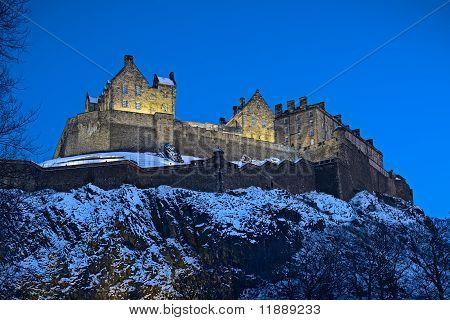 Edinburgh Castle, Scotland,