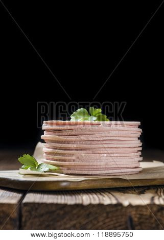Mortadella Slices