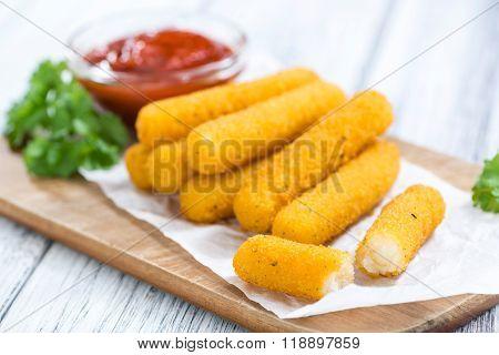 Mozzarella Sticks (deep-fried)