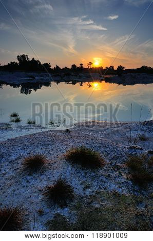 Sunrise at Kaolin Lake