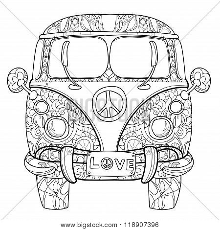Vw Adult Coloring Pages
