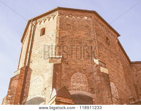 San Domenico Church In Chieri Vintage
